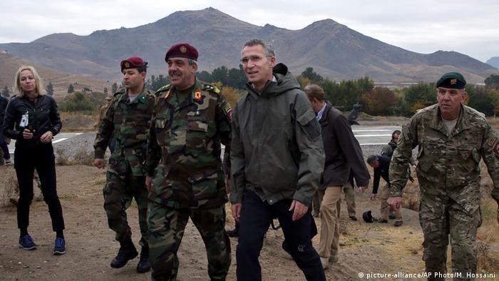 NATO Generalsekretär Stoltenberg in Afghanistan 6. Nov. 2014