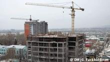 Wirtschaft Tadschikistan Baustelle