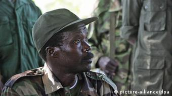 LRA-Chef Kony Foto: EPA/STUART