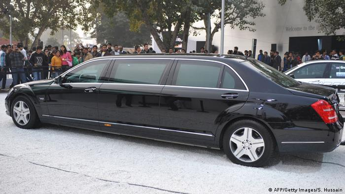 Mercedes-Benz S 600 Limousine (AFP/Getty Images/S. Hussain)