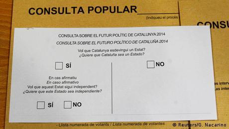 Katalonien Unabhängigkeit Referndum (Reuters/G. Nacarino)