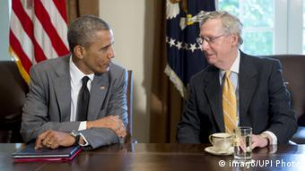 Barack Obama i Mitch McConnell