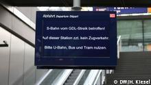 Bilder aus dem Hauptbahnhof Copyright: DW/Heiner Kiesel