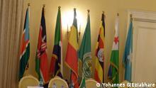 Fahnen der IGAD-Mitgliedsländer. Copyright: Yohannes G/Eziabhare