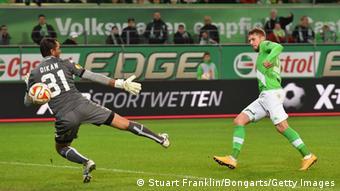 Europa League VfL Wolfsburg - FK Krasnodar