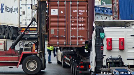 Symbolbild Deutschland Exportrekord