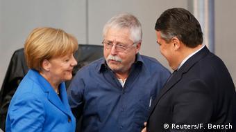 Вольф Бирман на встрече в бундестаге по случаю 25-летия падения Берлинской стены
