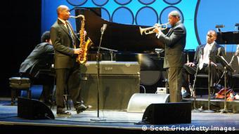 Wynton und Branford Marsalis auf der Bühne