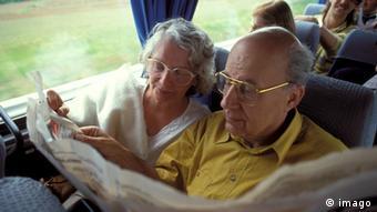 Німецькі пенсіонери - активні та мобільні