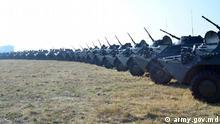 Ein Symbolbild für die Armee der Republik Moldau. Die Rechte überträgt der DW das Verteidigungsministerium der Republik Moldau. Copyright: army.gov.md