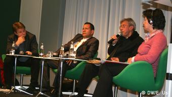 Aspecto del debate en Berlín.