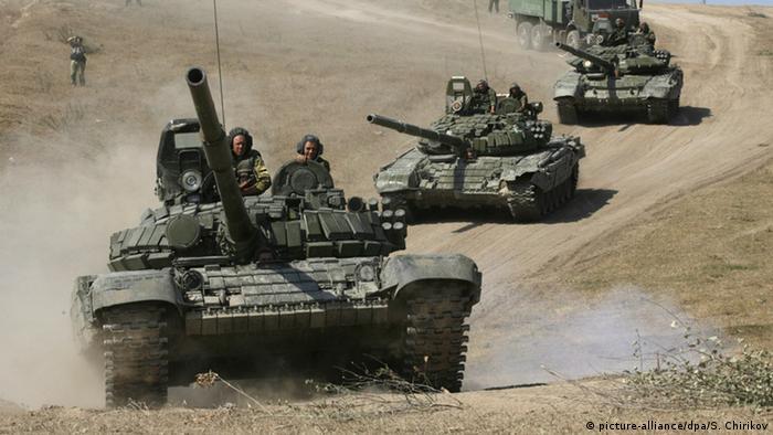 Российские танки (фото из архива)