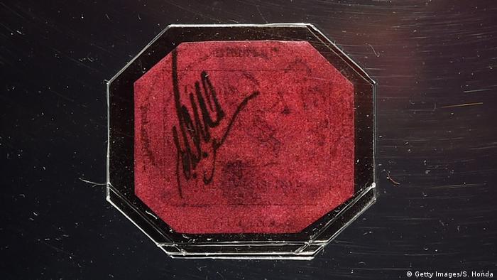 Briefmarke - One-Cent Magenta