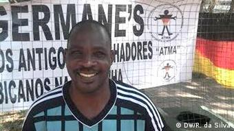 Improvisiertes Denkmal der Madjermane in Mosambik Herminio Matavel