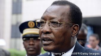 Tschads Präsident Idriss Deby