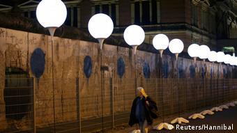 Bildergalerie Lichtgrenze Mauerfall 25 Jahre