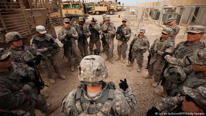 Symbolbild USA Irak Truppen (Lucas Jackson/AFP/Getty Images)