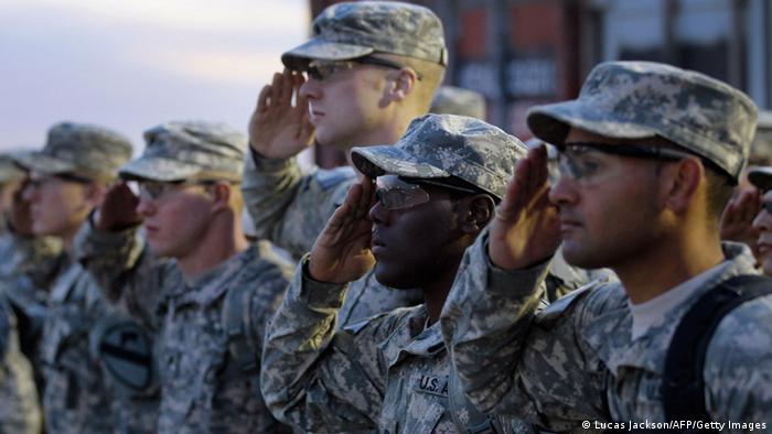 Symbolbild USA Irak Truppen