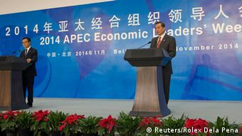APEC Treffen in Peking 08.11.2014