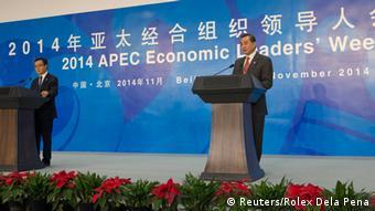 APEC Treffen in Peking 08.11.2014