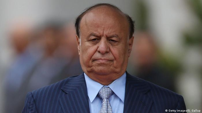 Abd Rabbo Mansur Hadi Präsident Jemen (Getty Images/S. Gallup)