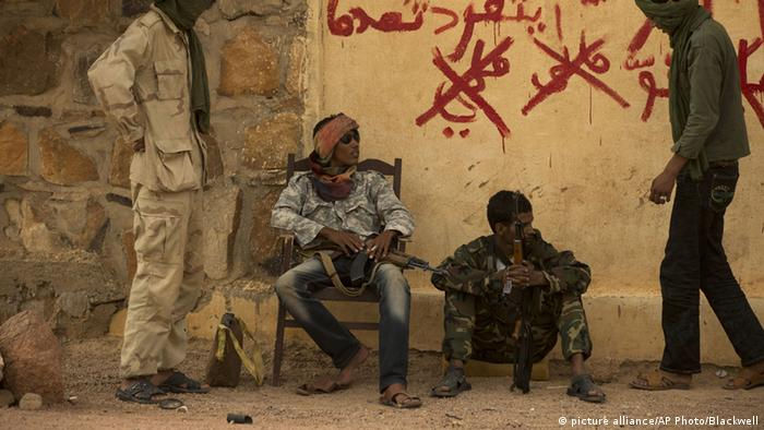 Tuareg rebels in Mali