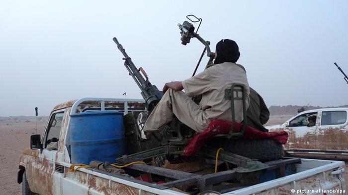 Tuareg MNLA - Kämpfer im Norden von Mali