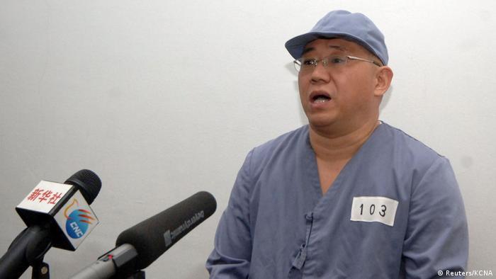 US-Bürger Bae in Nordkorea (Reuters/KCNA)