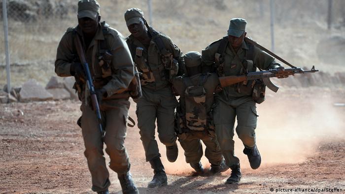 Vojska u Maliju na vježbi