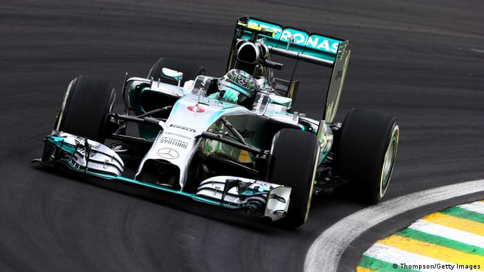 Nico Rosberg beim Qualifying in Sao Paulo. Foto: Getty Images