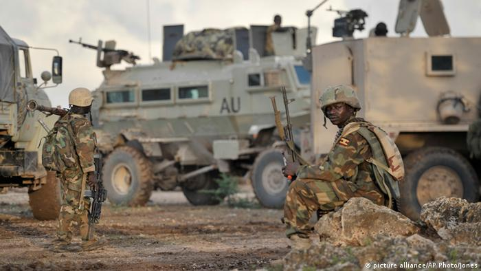 AMISOM - Soldaten in Somalia (picture alliance/AP Photo/Jones)