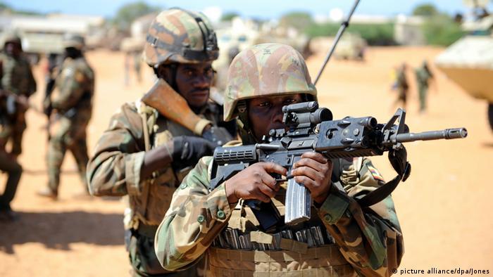 AMISOM soldiers in Somalia (EPA/AMISOM PHOTO / TOBIN JONES / )