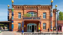 Der Hundertwasser-Bahnhof in Uelzen