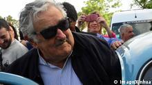 José Mujica mit seinem VW-Käfer