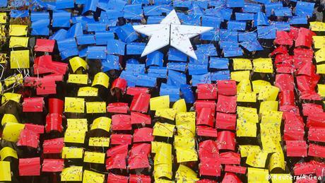 Symbolbild Katalonien Unabhängigkeit (Reuters/A.Gea)
