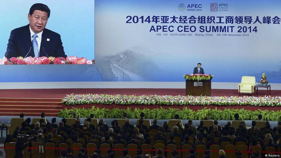 China's President Xi touts 'Asia-Pacific dream' ahead of APEC summit | DW | 09.11.2014