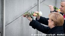 Berlin Feierlichkeiten am 9. November 25 Jahre Mauerfall Merkel Wowereit