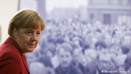 Α. Μέρκελ: Τυχερή στιγμή της ιστορίας η 9η Νοεμβρίου
