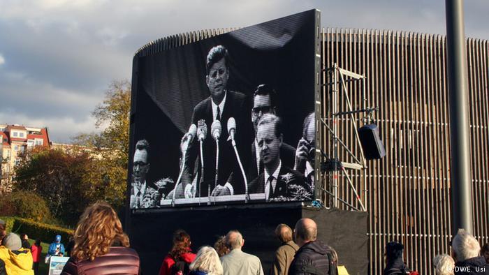 Bildergalerie Berlin Feierlichkeiten am 9. November 25 Jahre Mauerfall (DW/E. Usi)