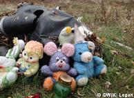Іграшки з літака MH17, листопад 2014 року
