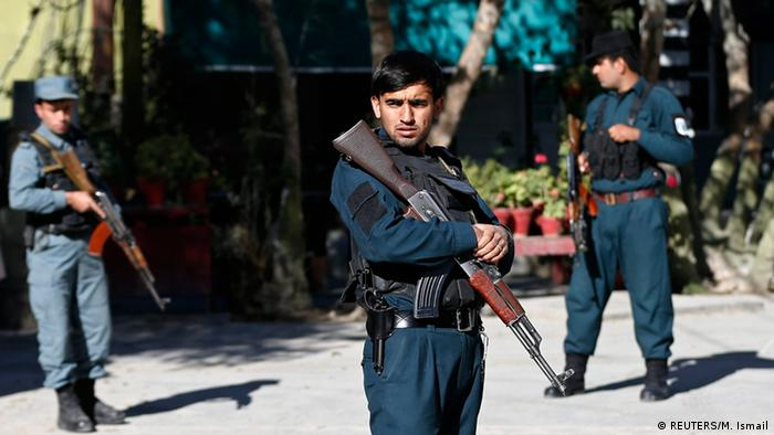 Afghanistan Selbstmordattentat Polizei Hauptquartier in Kabul