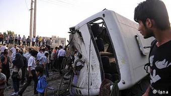 Iran Verkehrsunfall