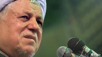 Akbar Hashemi Rafsanjani Geistlicher und ehemaliger Staatspräsiden Iran