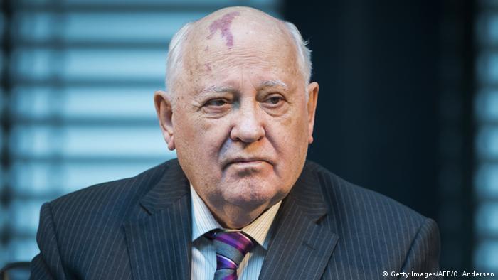Michail Gorbatschow ehemaliger sowjetischer Staatspräsident in Berlin 7.11.2014