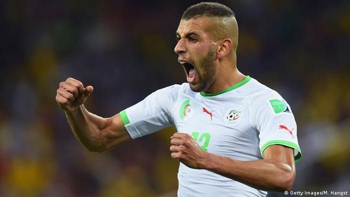 Bildergalerie Afrikanische Fußballspieler Islam Slimani (Getty Images/M. Hangst)