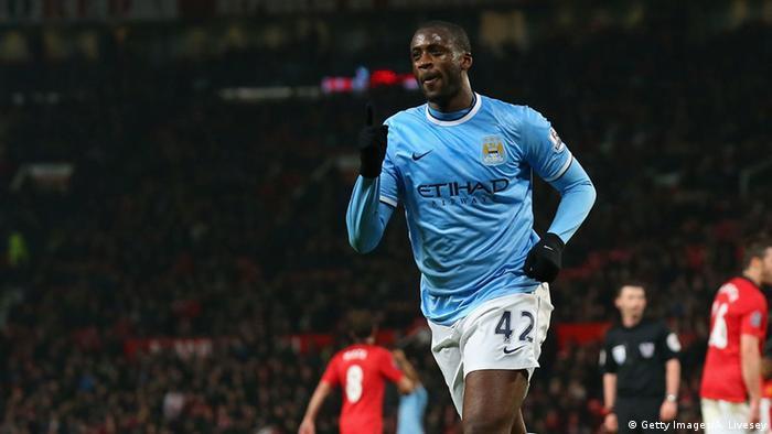 Bildergalerie Afrikanische Fußballspieler Yaya Toure