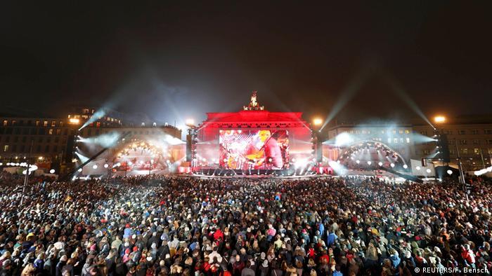 Berlin Feierlichkeiten 25 Jahre Mauerfall