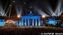 Berlin Feierlichkeiten 25 Jahre Mauerfall Ballons Gorbatschow