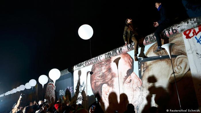 Celebrations in Berlin to mark the 25th anniversary since the fall of the Berlin Wall