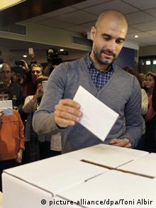 Katalonien Unabhängigkeit Abstimmung Barcelona 9.11.2014